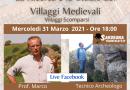 La ricerca e lo studio dei Villaggi Medievali con il prof. Marco Milanese parte-1